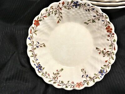 """4 CHELSEA WICKER DALE 5 ¼"""" Fruit Sauce Dishes Spode Copeland 2/4088 EXC"""