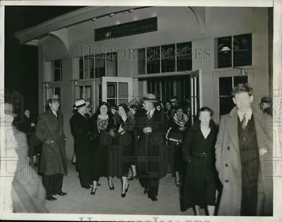 1933 Press Photo The Bureau of Printing and Engraving Night shift employees