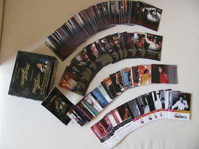 Michael JACKSON Panini 2011 Lot Set Complet 190 Cartes Trading Cards Collection