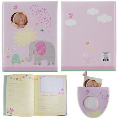 C.R. Gibson Stepping Stones Baby Memory Book For First Five Years Boys Or Girls