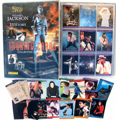 Michael JACKSON Panini 1996 Album Complet Cartes Trading Cards collection
