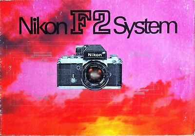 Nikon leaflets and instructions F2 and more