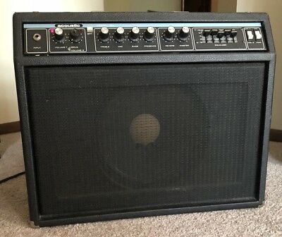 "Acoustic Corporation Model 123 w/ 12"" Eminence Combo Guitar Amp"