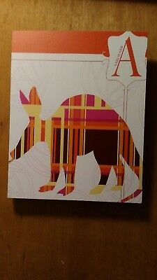 "Deny Designs Jennifer Hill, Aardvark Plaid , Art Canvas , Medium, 16"" X 20"""