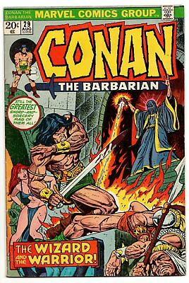 Conan the Barbarian #29 (Marvel, 1973) FN-
