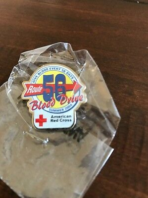 American Red Cross Route 56 Blood Drive Pin
