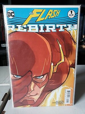 Flash: Rebirth One Shot (August 2016, DC) 1st appearance Godspeed!!