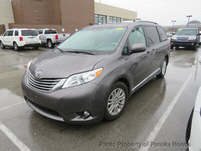 Toyota Sienna XLE XLE 4 dr Automatic Gasoline UNSPECIFIED GRAY