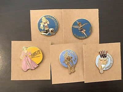 Nose Art Collectible Lapel Pins - 5