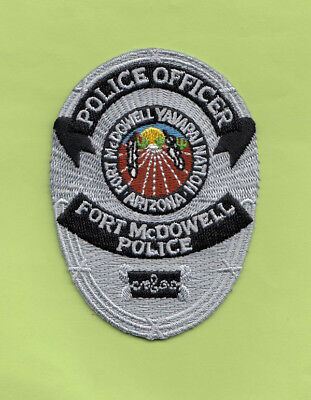 H10 * Tci Silver Ft Mcdowell Yavapai Arizona Ofr Fed State Police Patch Tribal