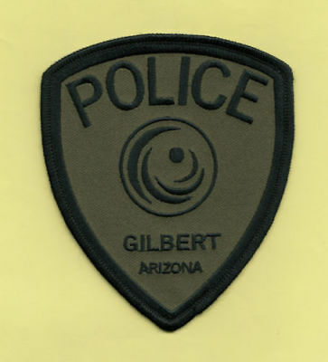 H20 * Gilbert Subdued Swat Srt Team Od Green Az State Highway Police Patch