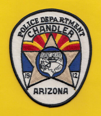 H22 * Old Style Chandler Arizona State Sheriff Highway Police Patch