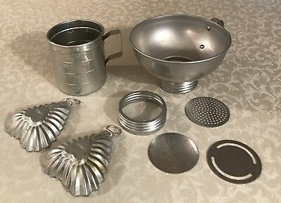 Vintage Lot of Aluminum Kitchen Items