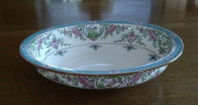 "MINTON Japonica Oval Serving Bowl, 9 1/4"" x 7 1/4"" B893 for Burley Chicago"