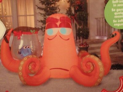New Disney Hank & Dory 8.5 Foot Wide Christmas Inflatable 0783248
