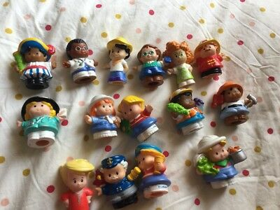 Fisher Price Little People Lot x 15