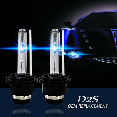 2pcs Xenon D2S D2R D2C Xenon Car Replacement HID Factory Headlight Bulbs 6000K