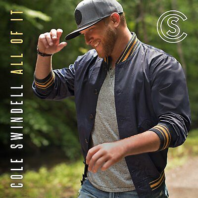 🔥BRAND NEW Cole Swindell All Of It SEALED PHYSICAL CD ALBUM PRE ORDER August 17