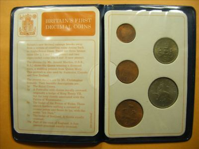 9228 GB First Decimal coin Set