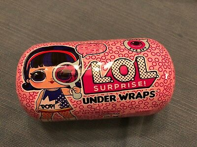 Authentic LOL SURPRISE Series 4 EYE SPY UNDER WRAPS Doll 1 BALL Ready 2 Ship!