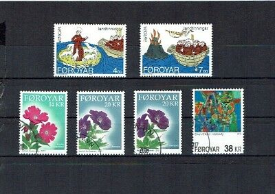 Faroe Islands stamps used collection 2018 2013