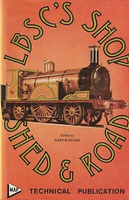 LBSC's SHOP SHED & ROAD Model LOCOMOTIVE Engineers BOOK Very detailed