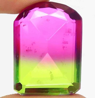 52.20Ct EGL Certified Multi Color Ametrine Wonderful Fancy Shape Gemstone BY1690