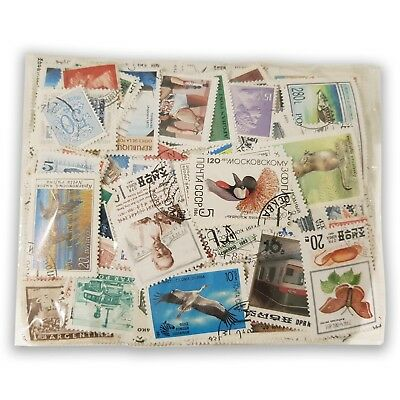 500 Different Mixed World Stamps All Fine Used and Off Paper