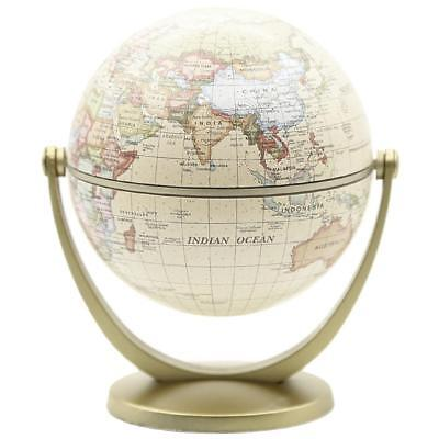 AU 360° Rotating Globes Earth Ocean Globe World Geography Map Desktop Decor Gift