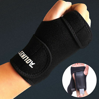 Wrist Brace Support Removable Hand Splint Support Carpal Tunnel Pain Relief Wrap