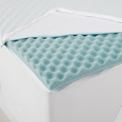 Gainsborough Gel Infused Egg Crate Mattress Topper In Queen Size RRP $289.95