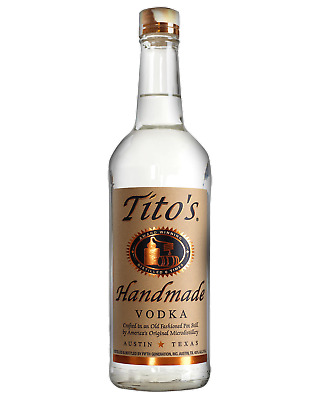 Tito's Handmade Vodka 700mL bottle