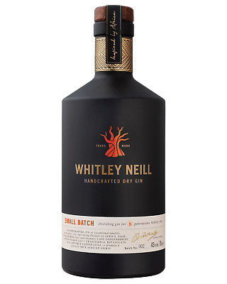 Whitley Neill Handcrafted Dry Gin 700mL