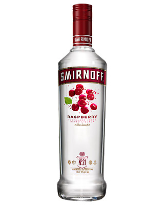 Smirnoff Raspberry Vodka 700mL bottle