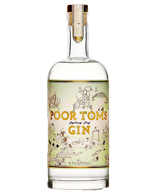 Poor Toms Sydney Dry Gin 700mL bottle