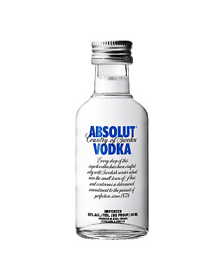 Absolut Vodka 50mL bottle