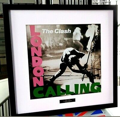 The Clash-Framed Album Cover-London Calling-Plaque-Certificate-Joe Strummer