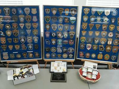 Southeast Patch Badge show (Police fire) table purchase, Forsyth Georgia, Nov. 3