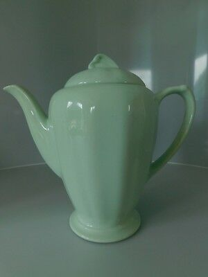 Vintage J & G Meakin Sol Glamour  Green Coffee Pot