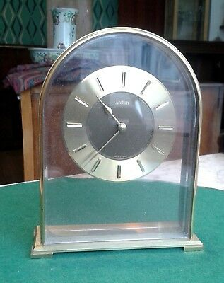 Bracket Clock by Accitim. Up and running. keeps good time. Free postage included