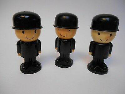 3 Homepride Fred egg cups