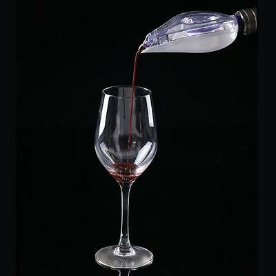 1pc Red Wine Aerator Bottle Topper Pourer Quick Aerating Decanter Pour Filter B