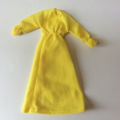 Matchbox Disco Girls Outfit Sunflower DG409 Yellow Dress vintage dolls clothes