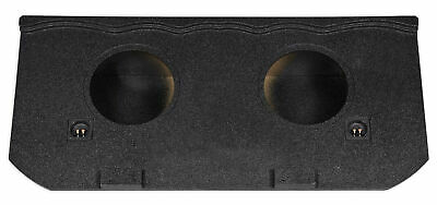 """EXT Dual 12"""" Sealed Subwoofer Box For 2002-13 Chevy Avalanche, Cadillac Escalade"""