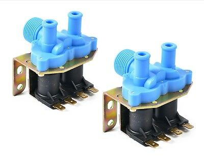 2PK - 9379-183-001 - Good Quality Washer Water Inlet Valve - 2-WAY 110V - Dexter