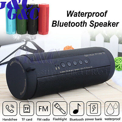 T2 Portable Wireless Bluetooth Waterproof Outdoor Cycling Flashlight Speaker
