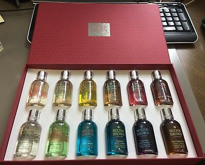Molton brown Limited Edition Shower Gel Gift Set x 12 50ml