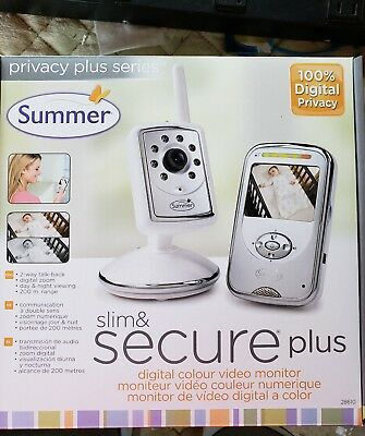 Summer Infant-Slim and Secure Plus ColorVideo Baby Monitor and Camera FREE GIFT