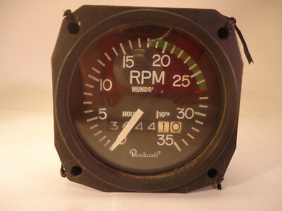 Beechcraft 36-380007-1 Tachometer - Used