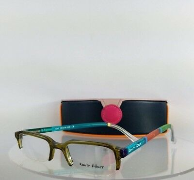 be3852520010 Brand New Authentic RONIT FURST RF1556 5A 48mm Hand painted Eyeglasses Frame